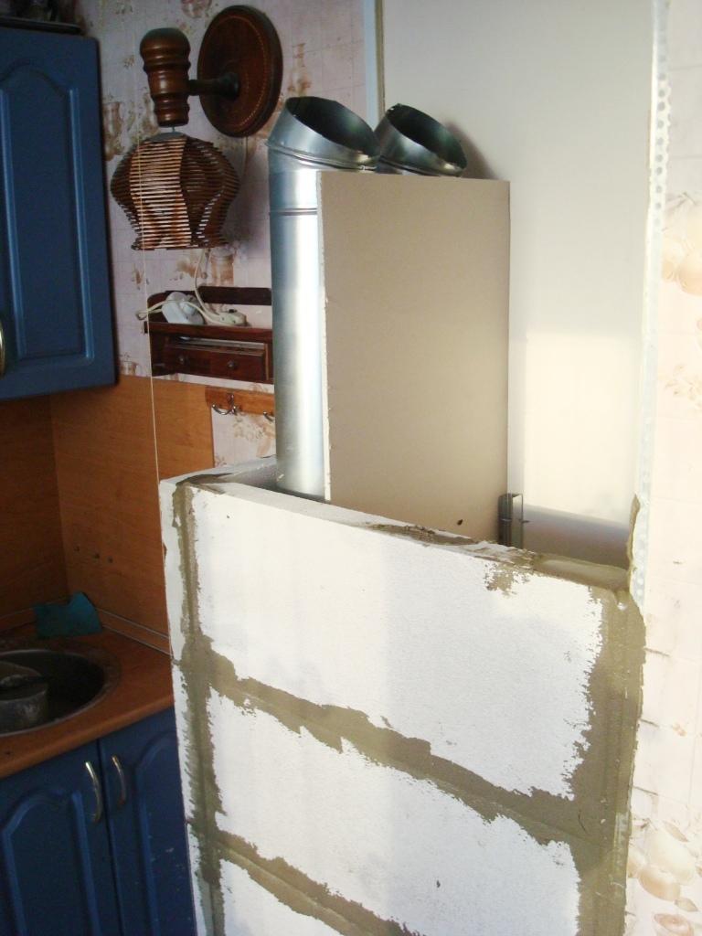 Восстановление вентиляционного короба на кухне цена
